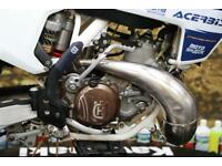 2017 HUSQVARNA TC 250 MOTOCROSS BIKE PRO TAPER BARS, NEKEN TRIPLE CLAMPS