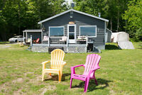 Lovely two-bedroom cottage on Digdequash Lake.  NEW PRICE!