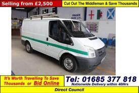 2009 - 58 - FORD TRANSIT T280 2.2TDCI 110PS FWD SWB VAN (GUIDE PRICE)
