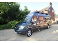 RS Motorhomes Equinox Race Home Mercedes 316, Garage