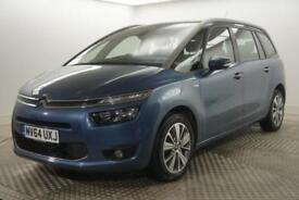 2014 Citroen C4 Picasso GRAND E-HDI AIRDREAM EXCLUSIVE Diesel blue Manual
