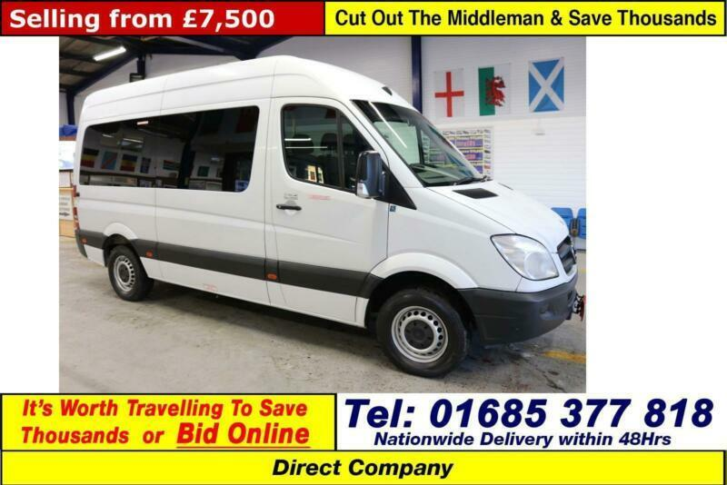 2012 - 12 - MERCEDES SPRINTER 313 2 2CDI AUTO 13 SEAT MINIBUS (GUIDE PRICE)  | in Dowlais, Merthyr Tydfil | Gumtree