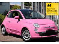 Fiat 500 1.2 Lounge stop/start BARGAIN PRICE VERY RARE SOUGHT AFTER COLOUR