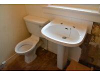 White Shire Toilet