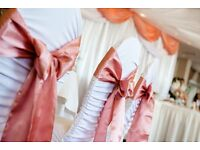 **SALE CHAIR COVERS HIRE / TABLE CLOTH HIRE ***Nationwide Delivery ***