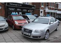 Audi A6 Saloon 2.0TDI 2006 7 SPEED AUTOMATIC GEARBOX 120,000M SAT NAV WARRANTY