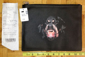 Givenchy Rottweiler Medium Pouch ****NEVER USED****