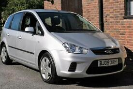 2009 FORD C MAX 1.6 STYLE. IN SILVER JUST TWO OWNERS FROM NEW