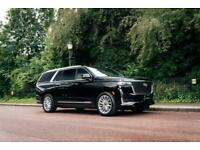 2021 Cadillac Escalade ESV Premium Luxury Petrol black Auto