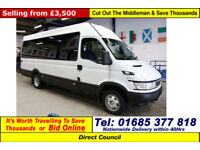 2006 - 06 - IVECO DAILY 50C14 5.2TON 3.0HPI 14 SEAT DISABLED ACCESS MINIBUS