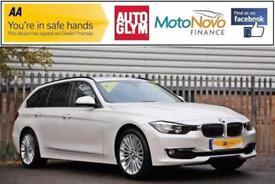 2015 BMW 3 Series 2.0 318d Luxury Touring 5dr (start/stop) Diesel white Automati