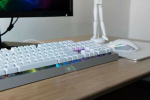 Clavier/Souris Razer Blackwidow Mercury White Edition