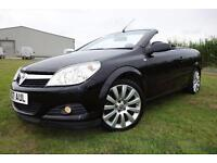 2007 Vauxhall Astra 2.0 i Exclusiv Black Twin Top 2dr