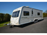 2009 Bailey Senator Wyoming 4 Berth Caravan with Fixed Bed