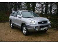 DIESEL 4wd Hyundai Santa Fe done 140841 Miles with SERVICE HISTORY and long MOT