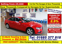 2012 - 62 - AUDI A4 TECHNIK 2.0TDI 177 SE 4 DOOR SALOON (GUIDE PRICE)