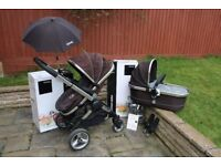 iCandy Peach System: Stroller, CarryCot & accessories (Black Jack)