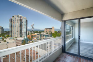 SELLER FINANCING AVAILABLE - MOUNTAIN views in uptown New West!