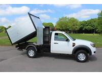 Ford Ranger 2.5TDCi 4x4 Reg Cab Tree / Arb Tipper Body Diesel Truck Low Mileage