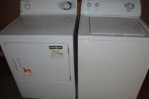 Super Capacity WASHER 125.   and   DRYER $115.
