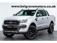 "2019 Ford Ranger TDCI WILDTRAK AUTO 20"" HAWKE ALLOYS 4X4 DCB - NO VAT SUV D"