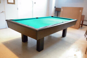 Table de billard/pool