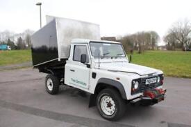 Land Rover 110 Defender 2.5Td5 High Capacity Tree / Arb Tipper Truck NO VAT