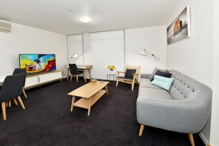 FULLY FURNISHED 1 BED. $699 p/w ALL BILLS - Pool & Gym