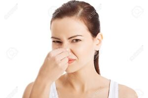 Let's get rid of that awful odor, call today we will fix it