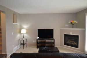 Fully furnished 2-bedroom Duplex-with private bath each!