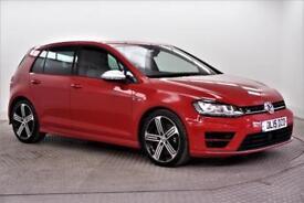 2015 Volkswagen Golf R Petrol red Manual