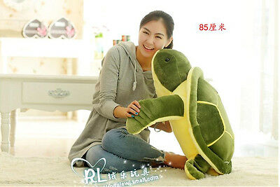 Hot 85cm Giant Large Big Sea Turtle Stuffed Animals Soft Plush Baby