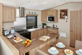 Fantastic 4 berth static caravan available on owners only park in Weardale