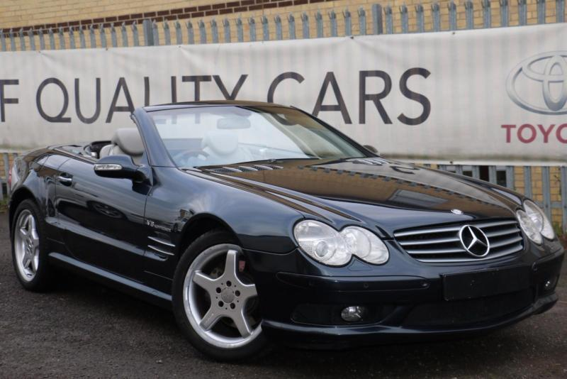 Mercedes-Benz SL500 5 0 auto SL55 FACTORY EXTRAS FITTED! BARGAIN   in High  Wycombe, Buckinghamshire   Gumtree