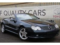 Mercedes-Benz SL500 5.0 auto SL55 FACTORY EXTRAS FITTED! BARGAIN