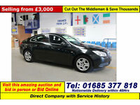 2011 - 11 - VAUXHALL INSIGNIA EXCLUSIV 2.0CDTI 5 DOOR HATCHBACK (GUIDE PRICE)