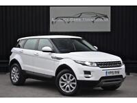 Range Rover Evoque 2.2 Sd4 ( 190bhp ) 4X4 Pure * Fuji White + Ebony *