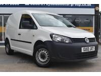2012 12 VOLKSWAGEN CADDY 1.6TDI C20 GOOD AND BAD CREDIT CAR FINANCE AVAILABLE