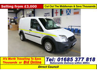 2010 - 60 - FORD TRANSIT CONNECT T200 1.8TDCI 75PS VAN (GUIDE PRICE)