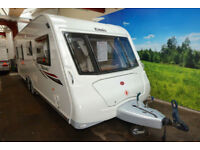 2012 Elddis Odyssey 650 4 Berth Touring Caravan with Fixed Twin Beds