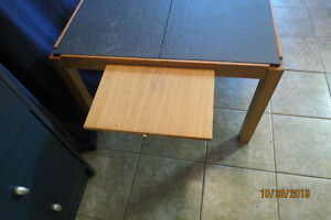 COFFEE TABLE MADE IN DENMARK-SLATE AND LIFT TOP! West Island Greater Montréal image 4