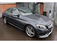 Mercedes C200 AMG LINE-SAT NAV-REAR CAMERA-1OWNER