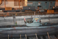 AUTHENTIC 1/72 SCALE DETAILED TYPE VII U BOAT DIORAMA