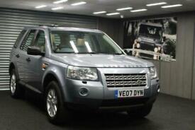 image for 2007 07 Land Rover Freelander 2 2.2Td4 2007MY SE 4x4 - Sat Nav - Half Letaher