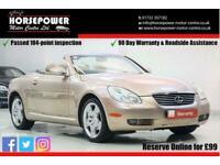 2005 Lexus SC 430 4.3 2dr Convertible Petrol Automatic