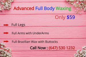 Body Waxing,Facial,Head/hot stone massage.Body Bleach/Scrub/Wrap