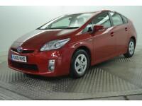 2010 Toyota Prius T3 VVT-I PETROL/ELECTRIC red CVT