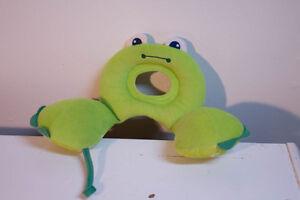 Coussin grenouille pour la tête