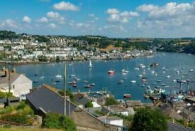 Static holiday home caravan Par Sands Beach Fowey Charlestown