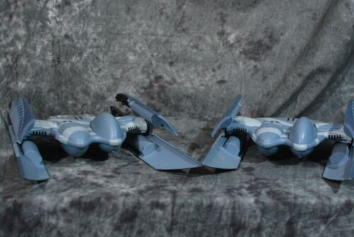 2010 Hasbro Star Wars HYENA BOMBER PAIR Clone Wars Near Complete W/FREE SHIPPING